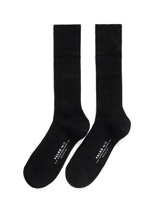 Main View - Click To Enlarge - FALKE - 'No. 13' Piuma cotton socks