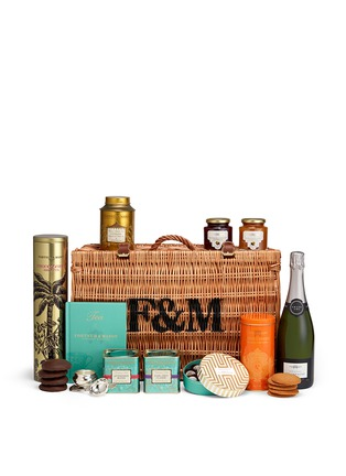 Main View - Click To Enlarge - Fortnum & Mason - The Lane Crawford Champagne Afternoon Tea hamper