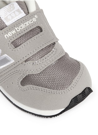 Detail View - Click To Enlarge - New Balance - '996' suede mesh toddler sneakers