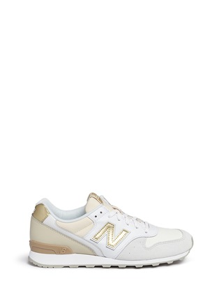Main View - Click To Enlarge - New Balance - '996' mixed media sneakers