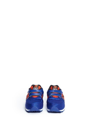 Figure View - Click To Enlarge - New Balance - '574' stripe jacquard toddler sneakers