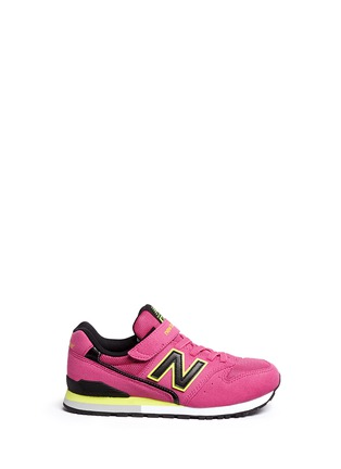 Main View - Click To Enlarge - New Balance - '996' textile strap kids sneakers