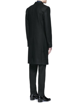 Back View - Click To Enlarge - Givenchy - Belted wool blend coat