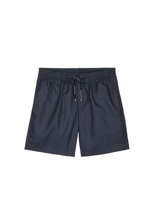 Main View - Click To Enlarge - Dolce & Gabbana - Micro polka dot print swim shorts
