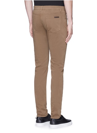 Back View - Click To Enlarge - Dolce & Gabbana - 'Stretch 16' slim fit chinos