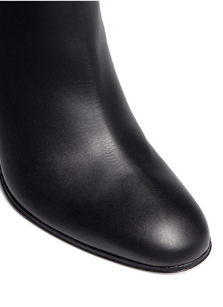 Detail View - Click To Enlarge - Giuseppe Zanotti Design - 'Nicky' leather ankle boots
