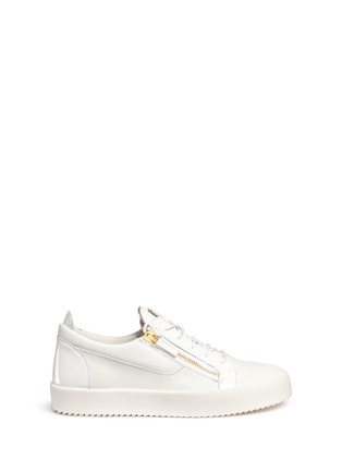 Main View - Click To Enlarge - 73426 - 'May London' leather low top sneakers