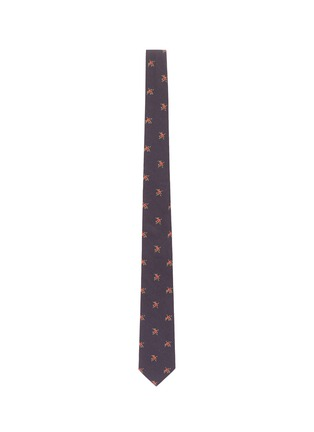 Main View - Click To Enlarge - Givenchy - Floral print cotton tie