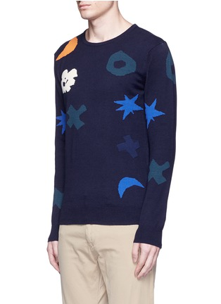 Front View - Click To Enlarge - Scotch & Soda - Intarsia cotton sweater