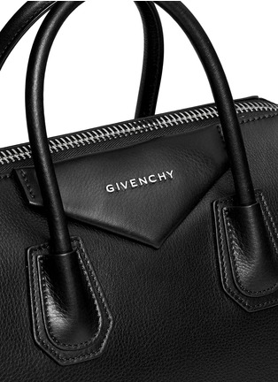 Detail View - Click To Enlarge - GIVENCHY - 'Antigona' medium leather bag