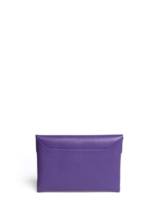 Back View - Click To Enlarge - GIVENCHY - 'Antigona' leather envelope clutch