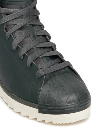 Detail View - Click To Enlarge - Adidas - 'Superstar Jungle' PrimaLoft® lining rubber boots