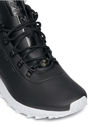 Detail View - Click To Enlarge - Adidas - 'ZX Flux Winter' PrimaLoft® sock high top sneakers