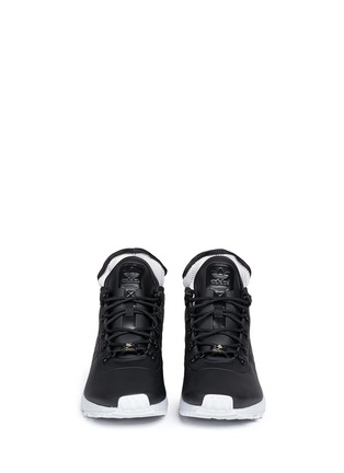 Front View - Click To Enlarge - Adidas - 'ZX Flux Winter' PrimaLoft® sock high top sneakers