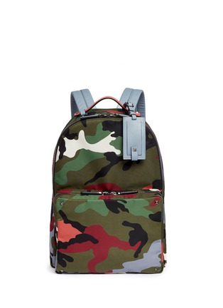 Main View - Click To Enlarge - Valentino - 'Camupsychedelic' nylon backpack