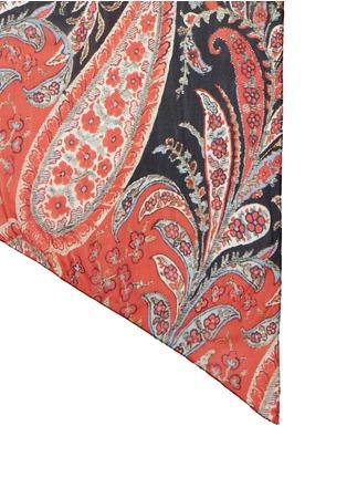 Detail View - Click To Enlarge - Isabel Marant Étoile - 'Fay' paisley print silk chiffon scarf