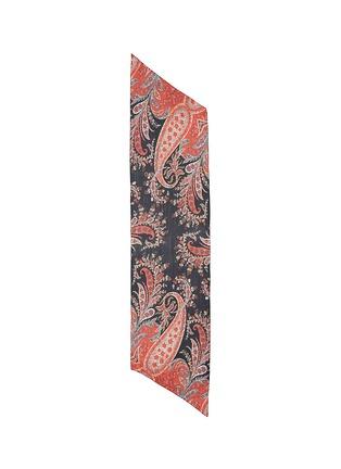 Main View - Click To Enlarge - Isabel Marant Étoile - 'Fay' paisley print silk chiffon scarf
