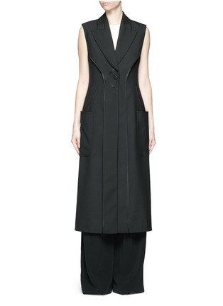 Main View - Click To Enlarge - Balenciaga - Inside-out seam vest