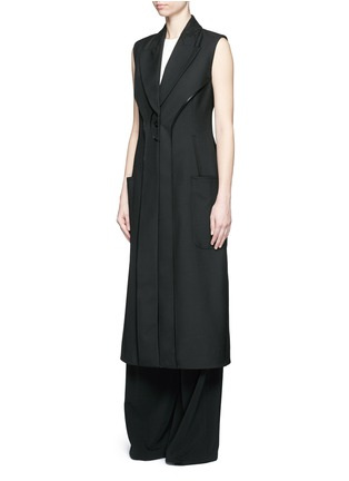 Figure View - Click To Enlarge - Balenciaga - Inside-out seam vest