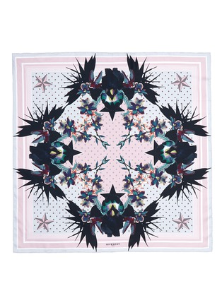 Main View - Click To Enlarge - GIVENCHY BEAUTY - 'Ultra Paradise' floral silk twill scarf