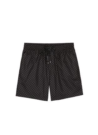Main View - Click To Enlarge - Dolce & Gabbana - Polka dot print swim shorts