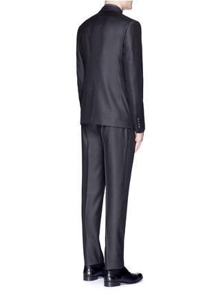 Back View - Click To Enlarge - Dolce & Gabbana - 'Martini' slim fit notch lapel wool-silk suit