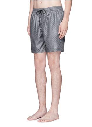 Figure View - Click To Enlarge - Dolce & Gabbana - Polka dot print swim shorts