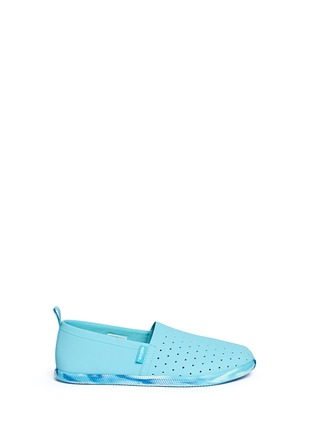 Main View - Click To Enlarge - Native - 'Venice' marble effect sole kids slip-ons