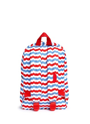 Back View - Click To Enlarge - The Herschel Supply Co. Brand - 'Heritage' mariner stripe kids backpack