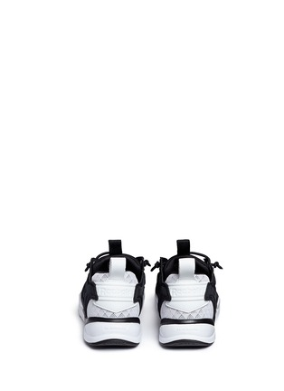 Back View - Click To Enlarge - Reebok - 'FuryLite Sheer' open mesh sneakers