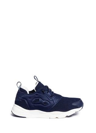 Main View - Click To Enlarge - Reebok - 'Furylite Winter' rib trim sneakers