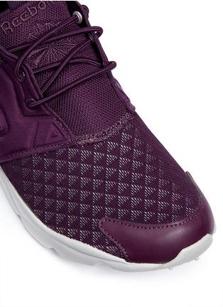 Detail View - Click To Enlarge - Reebok - 'FuryLite Sheer' open mesh sneakers