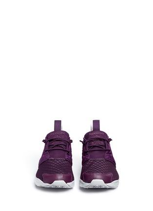Front View - Click To Enlarge - Reebok - 'FuryLite Sheer' open mesh sneakers
