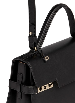 Detail View - Click To Enlarge - Delvaux - 'Tempête MM' leather bag