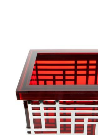 Detail View - Click To Enlarge - Tang Tang Tang Tang - Geometric block acrylic bin