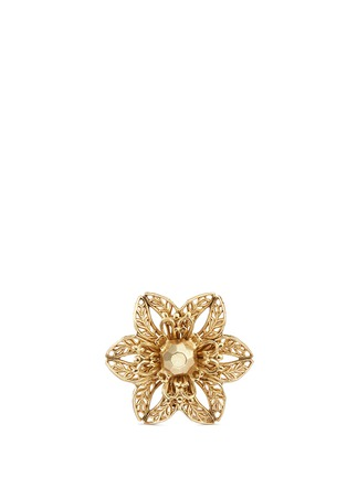 Main View - Click To Enlarge - Miriam Haskell - Stud filigree floral ring