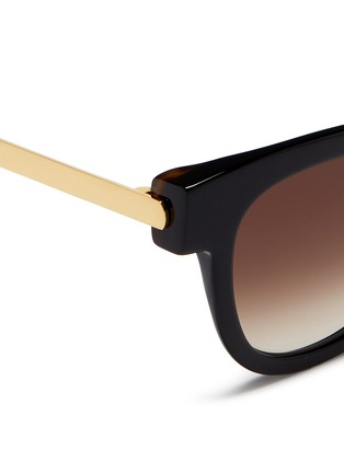 Detail View - Click To Enlarge - Thierry Lasry - 'Mondanity' square acetate metal template sunglasses