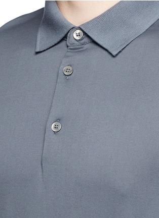 Detail View - Click To Enlarge - DANWARD - Cotton jersey polo shirt