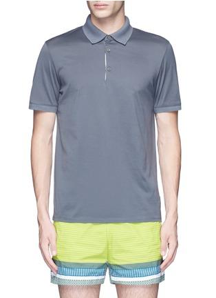 Main View - Click To Enlarge - DANWARD - Cotton jersey polo shirt