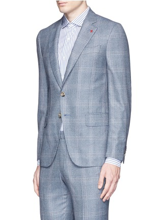 Front View - Click To Enlarge - ISAIA - 'Gregory' wool houndstooth suit