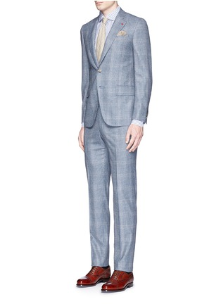 Figure View - Click To Enlarge - ISAIA - 'Gregory' wool houndstooth suit