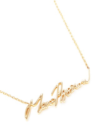 Figure View - Click To Enlarge - Stephen Webster - 'Neon More Passion' 18k yellow gold necklace