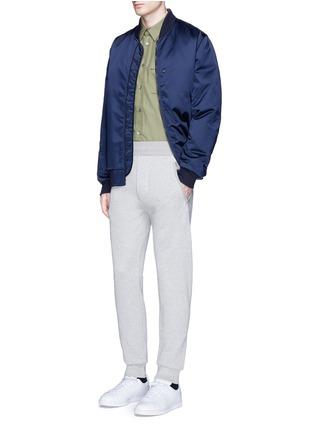 Figure View - Click To Enlarge - ACNE STUDIOS - 'Johna' zip pocket jogging pants