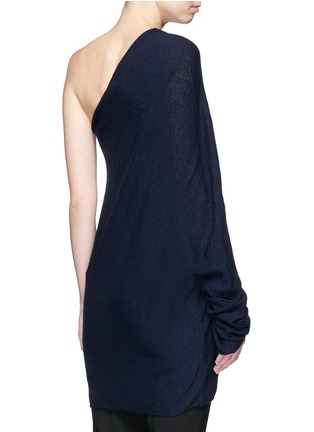 Back View - Click To Enlarge - The Row - 'Shelda' one-shoulder cashmere-silk sweater