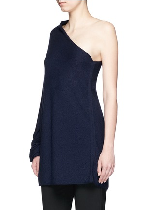 Front View - Click To Enlarge - The Row - 'Shelda' one-shoulder cashmere-silk sweater