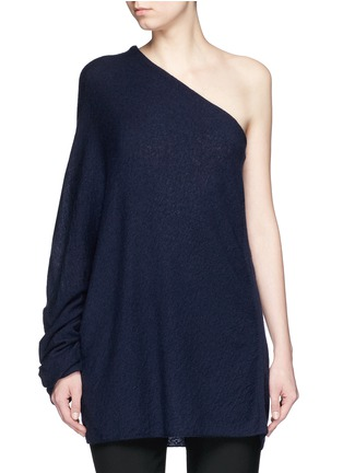 Main View - Click To Enlarge - The Row - 'Shelda' one-shoulder cashmere-silk sweater