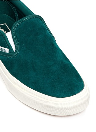 Detail View - Click To Enlarge - Vans - 'Classic' suede slip-ons