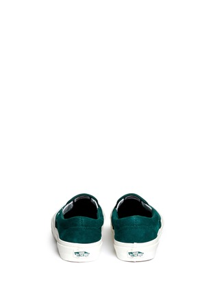 Back View - Click To Enlarge - Vans - 'Classic' suede slip-ons