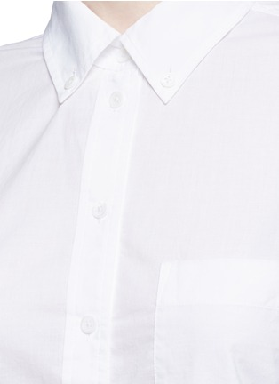 Detail View - Click To Enlarge - Equipment - 'Margaux' cotton shirt