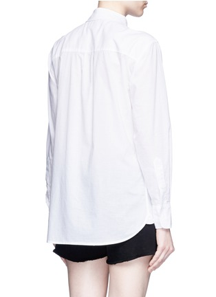 Back View - Click To Enlarge - Equipment - 'Margaux' cotton shirt